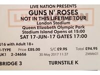 Guns n roses concert tickets