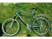 Raleigh Savanna aluminium frame bike