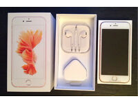 Apple iPhone 6s 64gb White/Gold Locked to O2 - BRAND NEW UN-USED