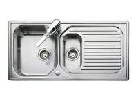 Aqualine 1.5 reversible sink