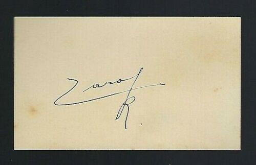 King Carol II Romanis signed card King of Romania 1930-1940
