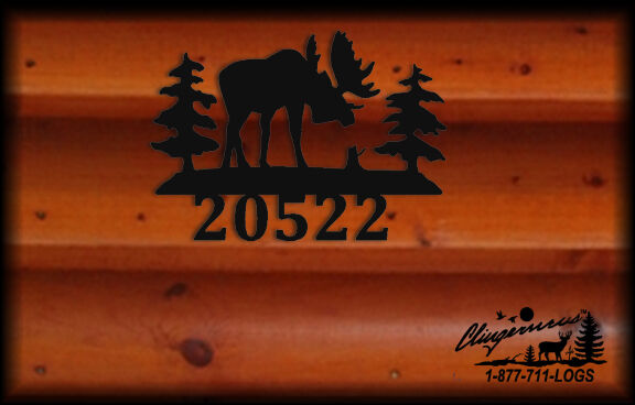 MOOSE PERSONALIZED WALL HANGING