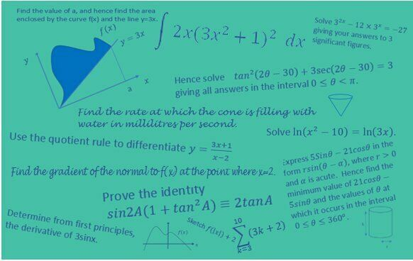 Half Term A Level Core Maths Revision Live Online 18th-22nd