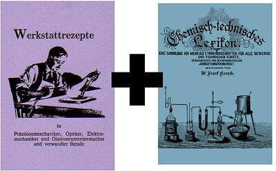 Rezeptbuch für die Werkstatt Schmied 375 Rezepte 1920 + CD mit 17000 Rezepten