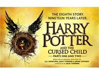 2 x Harry Potter & The Cursed Child (Parts 1 & 2) Sunday 27th Aug / Dress Circle Row A (£140/ticket)