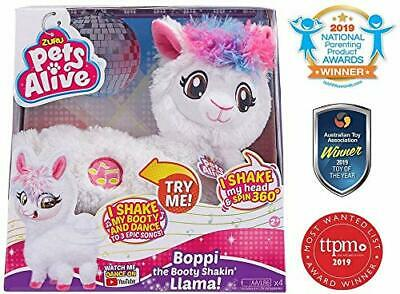 Pets Alive Boppi The Booty Shakin Llama Battery-Powered Dancing Robotic Toy b...