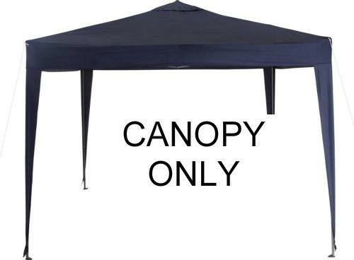 Replacement Polyester Waterproof Blue Canopy/Cover for 3m x 3m Pop ...