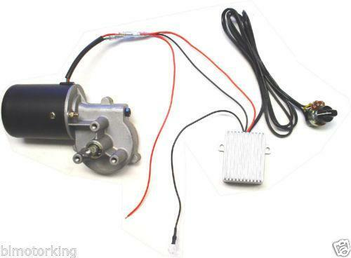 Variable speed gearmotor electrical test equipment ebay for How to make an ac motor variable speed