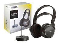 Sony Wireless Headphones. MDR RF810RK.