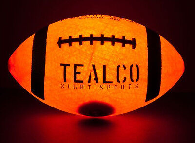 Genuine TealCo Light Up Football & Accessories - Brighter than glow in the dark!](Light Up Footballs)