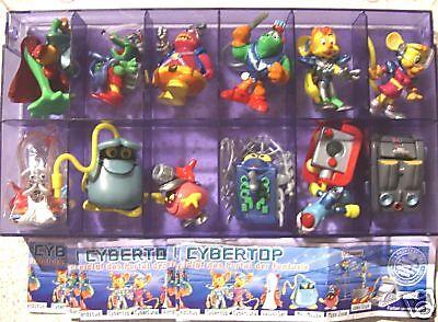 """Suchen Sie sich 3 Figuren """"Cypertops"""" 2003 mit BPZ aus der Liste aus!!"""