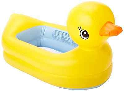 Bath Duck Tub Inflatable Safety Toddler Baby Newborn Summer Shower Bathing New .