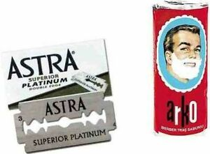 100-ASTRA-SUPERIOR-PLATINUM-DOUBLE-EDGE-SAFETY-RAZOR-BLADES-FREE-ARKO-SOAP-75G