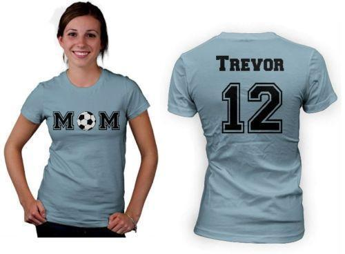 Personalized mom shirts ebay for Custom personal trainer shirts