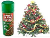 120x 300ML CAN REAL CHRISTMAS TREE SPRAY HELP STOP NEEDLE DROP Spray n Save XMAS