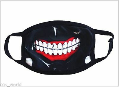 Cosplay Masks Japan Anime Tokyo Ghoul Masks Unisex Protection Face Mask - Ghoul Mask