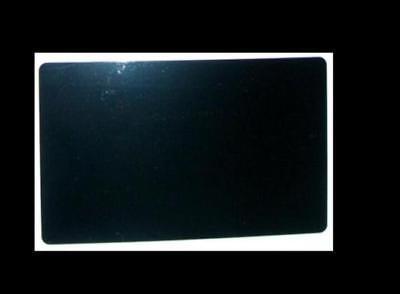 100 Pcs Laser Engraved Metal Business Cards Blanks 3.42.1 In 0.45 Mm Black