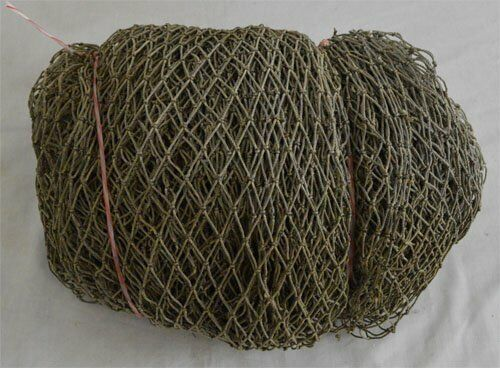 15 x 15 Feet Brown Bulk Authentic Fish Net Hanging Decor Fishing Fishnet Vintage