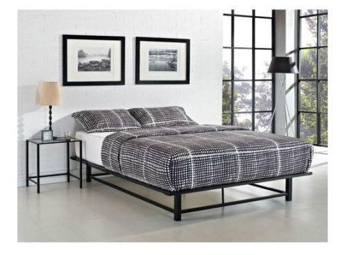 Bed Frame No Box Spring Ebay