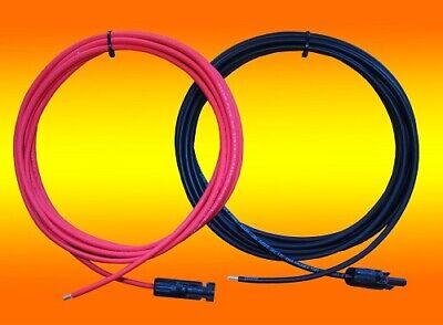 Verbindungskabel 4mm² oder 6mm²  1m - 20m Solarkabel Anschlusskabel PV Kabel
