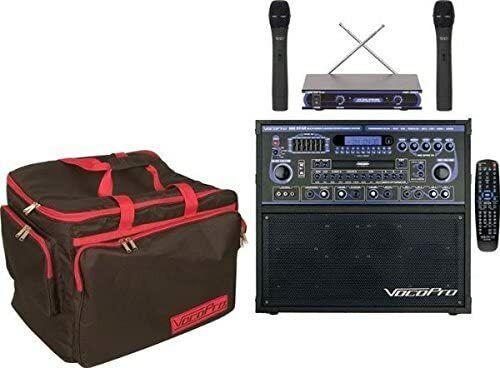 VocoPro Karaoke System, MultiColored (GIGSTARPROII)