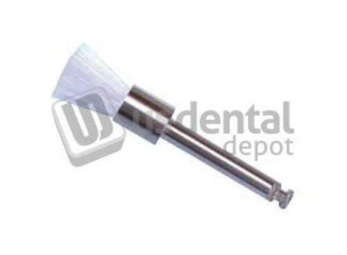 200pk Prophy Brushes RA Latch Flat WHITE (cepillos para profilaxis) #PB-330