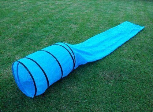 Dog Pet Agility Obedience Training Tunnel Chute 15