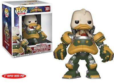 Funko Pop Games: Marvel Contest of Champions Howard the Duck 301 26711 - The Ducks Game