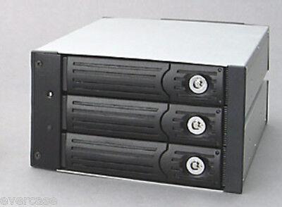 Modul Ide 40-pin (Dual Bay 3x 40pin IDE HDD. 3 in 2 RAID Module. SI-0237A Backplane. Black)