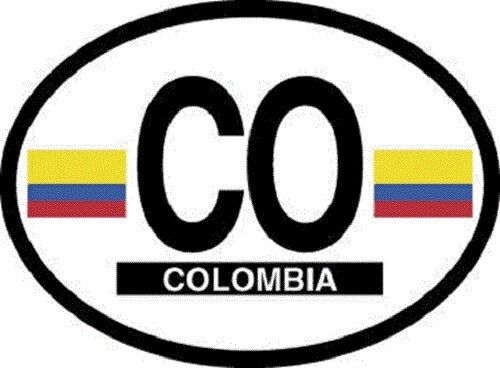 Columbia Flag Sticker - New in package
