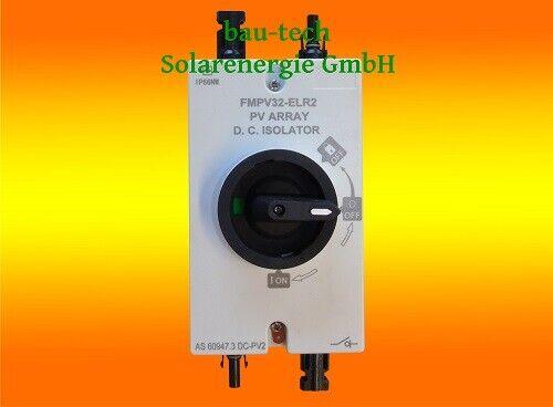 4 Polig Vega MCB DC-Breaker PV Solar 1200VDC 125A DC-Trennschalter
