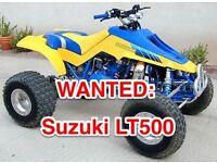 Wanted; Suzuki LT500