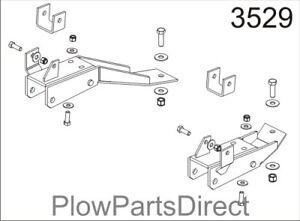 Western plow ultra mount for GMC 2000-2010