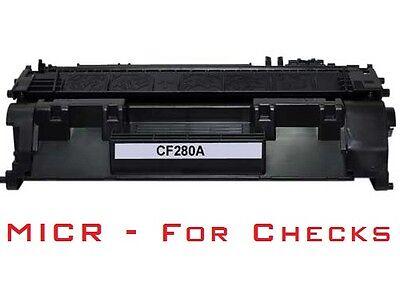 Compatible MICR Toner Cartridge (CF280A, 80A) for HP LaserJet Pro 400 (Micr Toner For Hp Laserjet Pro 400 M401n)