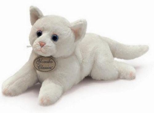 White Cat Plush Toy S Russ