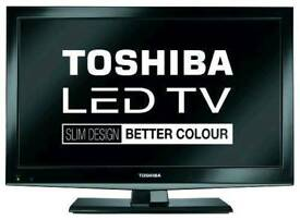 "Toshiba 32"" Led Full HD, Freeview, Delivery"