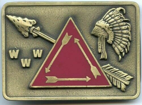 "Order of the Arrow -- OA -- (Antique) Bronze ""VIGIL"" Belt Buckle -- NEW & MINT!!"