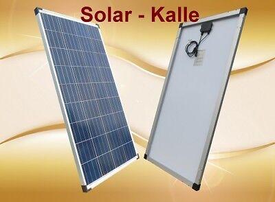 130w Solarpanel (Solarpanel Solarmodul 130Watt 130W 12V 12Volt Polikristallin / Garten Wohnmobil)