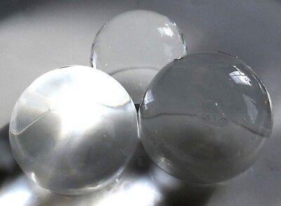 RIESIG: 12 Wasserperlen, Dekoperlen, transparent, XXL, ergibt ca. 30-40 mm Ø