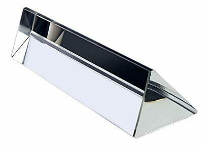 3.9 Inch / 100mm Optical Glass Triangular Prism Triple Prism for Science