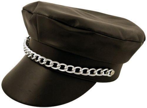 Leather Biker Cap: Clothes, Shoes & Accessories | eBay