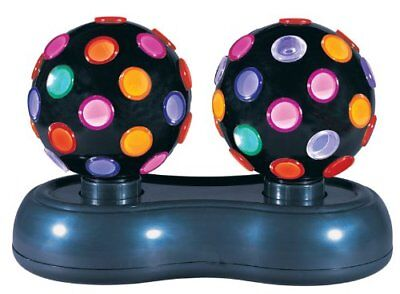 12 Inch Disco Ball (Global disco light 12-inch Twin Roatating Disco Ball Light,)