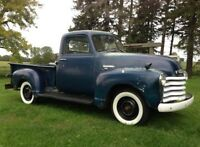 Looking for a Chevy 3100 1/2 truck