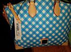Dooney & Bourke Gingham Satchel Bags