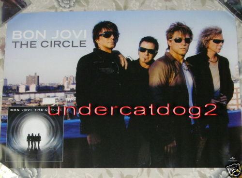 Bon Jovi The Circle 2009 Taiwan Promo Poster
