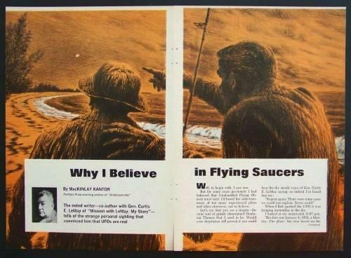 Why I Believe in UFOs General Curtis LeMay 1966 article
