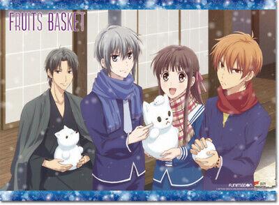 Fruits Basket Snowy Day Wall Scroll Poster Anime Manga NEW