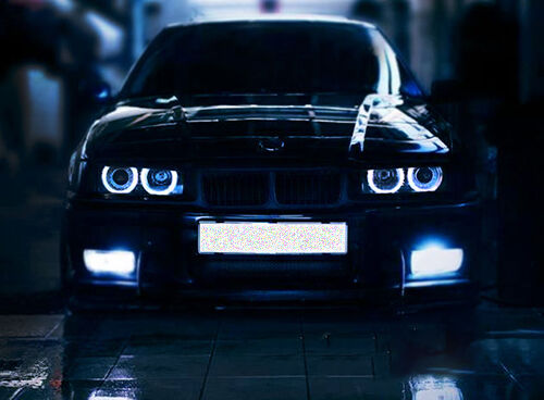 your guide to buying bmw angel eyes headlights ebay. Black Bedroom Furniture Sets. Home Design Ideas
