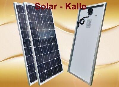 Panel 2 (2 x 100Watt Mono SOLARPANEL PHOTOVOLTAIK PV Modul, Paneel Solar Zelle Platte NEU)