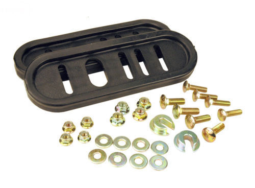 Universal Deluxe Poly Snow Blower Skid Shoes Kit 5584 compat